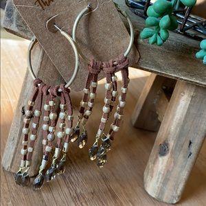 Jewelry - Fashion Forward Hoop Earrings